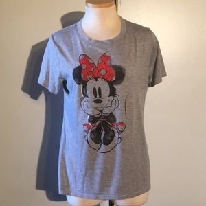 Disney Minnie Mouse Short Sleeve Top